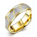 baratos Anéis-Homens Anéis de Casal / Anel de banda / Anel de declaração - Chapeado Dourado Borla, Boêmio, Punk 7 / 8 / 9 Dourado Para Casamento / Festa / Diário