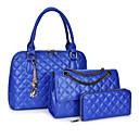 cheap Backpacks-Women's Bags PU(Polyurethane) Bag Set 3 Pcs Purse Set Gold / White / Black