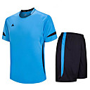 cheap Sports Support & Protective Gear-Children's Soccer Clothing Suits Quick Dry Breathable Winter Spring Summer Fall Terylene Exercise & Fitness Leisure Sports