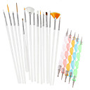 cheap Nail Kits & Sets-20pcs/Set Drafting Tools &  Accessories / Brushes / Accessories Chic & Modern / Trendy Nail Dotting Tool Nail Dotting Pen / Nail Brushes