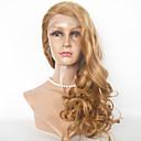 זול תיקי ערב וקלאצ'ים-שיער אנושי תחרה מלאה חזית תחרה פאה Body Wave פאה 130% צפיפות שיער שיער אומבר שיער טבעי פאה אפרו-אמריקאית בגדי ריקוד נשים קצר בינוני ארוך פיאות תחרה משיער אנושי / 100% קשירה ידנית