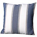 billige Putevar-45 * 45cm grove sengetøy striper blå putetrekk hjemmeinnredning dekorasjon