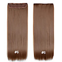 cheap Synthetic Extensions-22 inch Synthetic Hair Hair Extension Clips Clip In Clip In/On Daily High Quality Women's