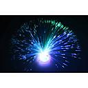 abordables Regalos de Boda-hermoso color romántico cambiante llevó la lámpara de fibra óptica pequeña luz chrismas fiesta decoración del hogar luz de la noche