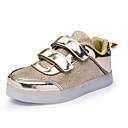 preiswerte LED-Kerzenlichter-Herrn / Damen / Jungen Schuhe Kunststoff Frühling Komfort / Leuchtende LED-Schuhe Sneakers Klettverschluss für Rosa / Silber / Gold