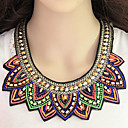 cheap Necklaces-Women's Beaded Statement Necklace - Resin Statement, Bohemian, European Rainbow Necklace For Party, Daily, Work