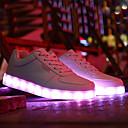 זול אביזרים לגברים-בגדי ריקוד גברים נעליים PU קיץ נוחות שטוחות שטוח לבן