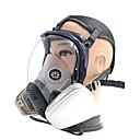 voordelige Veiligheid-het gasmasker masker grote sferische silicagel spuiten chemische anti brand formaldehyde gasmasker