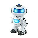 olcso Robotok-RC Robot Kids 'Electronics / Robot Infracrveno ABS Éneklés / Tánc / Gyaloglás Távvezérelt / Éneklés / Tánc