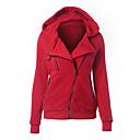 זול נעלי אוקספורד לנשים-אחיד Jacket hoodie בסיסי בגדי ריקוד נשים / אביב / סתיו