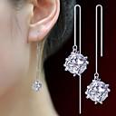 preiswerte Modische Armbänder-Damen Tropfen-Ohrringe - Perle, Künstliche Perle Modisch Silber Für Party Alltag