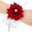cheap Wedding Flowers-Wedding Flowers Bouquets / Wrist Corsages / Others Wedding / Party / Evening Material / Satin 0-20cm