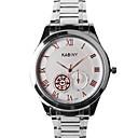 preiswerte Kleideruhr-Herrn Armbanduhr Wasserdicht / Armbanduhren für den Alltag Legierung Band Charme / Modisch Silber / Gold / Mehrfarbig / Edelstahl
