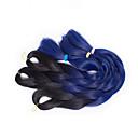 baratos Tranças de Cabelo-Cabelo para Trançar Tranças de caixa Tranças torção / Extensões de Cabelo Natural 100% cabelo kanekalon Tranças de cabelo Diário
