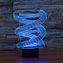 رخيصةأون إضاءة عصرية-1 قطعة ليلة 3D USB تخفيت 5 V