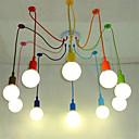 cheap Ceiling Lights-10-Light Chandelier Ambient Light - Mini Style, 110-120V / 220-240V Bulb Not Included / 15-20㎡ / E26 / E27