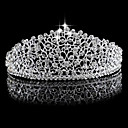 cheap Party Headpieces-Rhinestone / Alloy Tiaras with 1 Wedding Headpiece