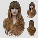 cheap Bakeware-Synthetic Wig Synthetic Hair Brown Wig Women's Long Capless
