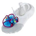 baratos Adesivos de Parede-Sapatilhas de Balé Tecido Sapatilha Pérolas Sintéticas Sem Salto Não Personalizável Sapatos de Dança Fúcsia / Azul / Rosa claro