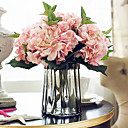 cheap Artificial Flower-Artificial Flowers 5 Branch European Style Hydrangeas Tabletop Flower