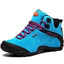 abordables Zapatillas Deportiva de Mujer-Mujer Zapatos Ante Primavera / Verano / Otoño Confort Zapatillas de Atletismo Senderismo Tacón Plano Con Cordón Morado / Azul