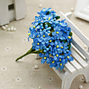 cheap Artificial Flower-Artificial Flowers 1 Branch Pastoral Style Baby Breath Tabletop Flower