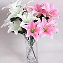 billige Kunstig Blomst-Kunstige blomster 10 Gren Moderne Stil Liljer Bordblomst