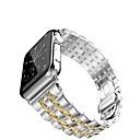 billige Flomlys-Klokkerem til Apple Watch Series 4/3/2/1 Apple Sommerfugle Spenne Rustfritt stål Håndleddsrem