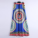 cheap Necklaces-Women's Beach Boho Swing Skirts - Tribal Print / Maxi