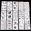 preiswerte Temporäre Tattoos-30 Tattoo Aufkleber Andere Non Toxic MusterDamen Herren Erwachsener Teen Flash-Tattoo Temporary Tattoos