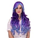 abordables Pelucas para Disfraz-Pelucas sintéticas / Pelucas de Broma Pelo sintético Peluca Mujer Muy largo Sin Tapa