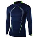 voordelige Hardloopshirts, -broeken en -shorts-Heren T-shirt Sport Kleurenblok / Lange mouw