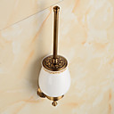 abordables Relojes de Moda-Soporte para Cepillo de Baño Clásico Latón 1 pieza - Baño del hotel