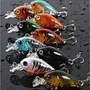 """9 pcs Cebos Señuelos duros Pececillo Colores Surtidos g/Onza,45 mm/1-3/4"""" pulgada,Plástico duroPesca de Mar Pesca de baitcasting Pesca al"""