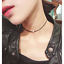 cheap Necklaces-Women's Choker Necklace / Tattoo Choker - Personalized, Tattoo Style, Fashion Black Necklace For Wedding, Party, Daily
