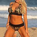 preiswerte Handyhüllen & Bildschirm Schutzfolien-Damen Übergrössen Blumig Bikinis - Druck, camuflaje Halter Cheeky-Bikinihose / Sexy