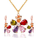 cheap Jewelry Sets-Women's Jewelry Set - Include Bridal Jewelry Sets Rainbow For Wedding / Party