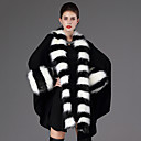 cheap Wedding Wraps-Long Sleeve Faux Fur Casual Women's Wrap With Feathers / Fur Capes
