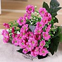 cheap Artificial Plants-Artificial Flowers 1 Branch Pastoral Style Violet Tabletop Flower
