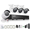 cheap NVR Kits-SANNCE® 4CH HD 1.3 MP 960P NVR POE Security IP Camera Kit System Home Network Outdoor