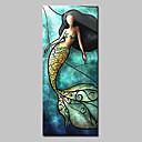 hesapli Manzara Resimleri-Hang-Boyalı Yağlıboya Resim El-Boyalı - Pop Art Modern Tuval