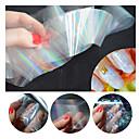 billige Folie af papir-1 pcs Polymer Nail Art Negle kunst Manicure Pedicure glitter / Lys / Mode Daglig