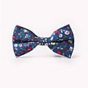 cheap Men's Accessories-Men's Party / Work / Basic Cotton Bow Tie - Floral Print