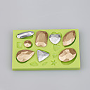 voordelige Bakgerei-Bakvormen gereedschappen Siliconen Milieuvriendelijk / Anti-aanbak / nieuwe collectie Cake / Koekje / Cupcake Cake Moulds