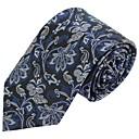 hesapli Anahtarlık Hediyelikleri-Erkek Parti İş Temel Polyester Boyun Bağı Çizgili
