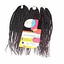 preiswerte Haarzöpfe-Geflochtenes Haar Senegal Twist Braids / Echthaar Haarverlängerungen Synthetische Haare Haar Borten Alltag