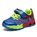 baratos Sapatos de Menino-Unisexo Sapatos Camurça Primavera Tênis Caminhada Cadarço / Velcro para Preto / Vermelho / Azul Real