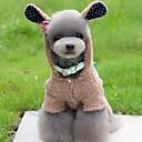 abordables Adhesivos Completos para Uñas-Perro Disfraces Mono Ropa para Perro Animal Gris Marrón Rosa Lana Polar Disfraz Para mascotas Hombre Mujer Bonito Cosplay