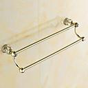 cheap Kitchen Faucets-Towel Bar Antique Brass 2-tower bar