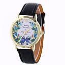 voordelige Chokerkettingen-Dames Modieus horloge / Dress horloge / Polshorloge / PU Band Vlinder Zwart / Wit / Blauw / Een jaar / SODA AG4